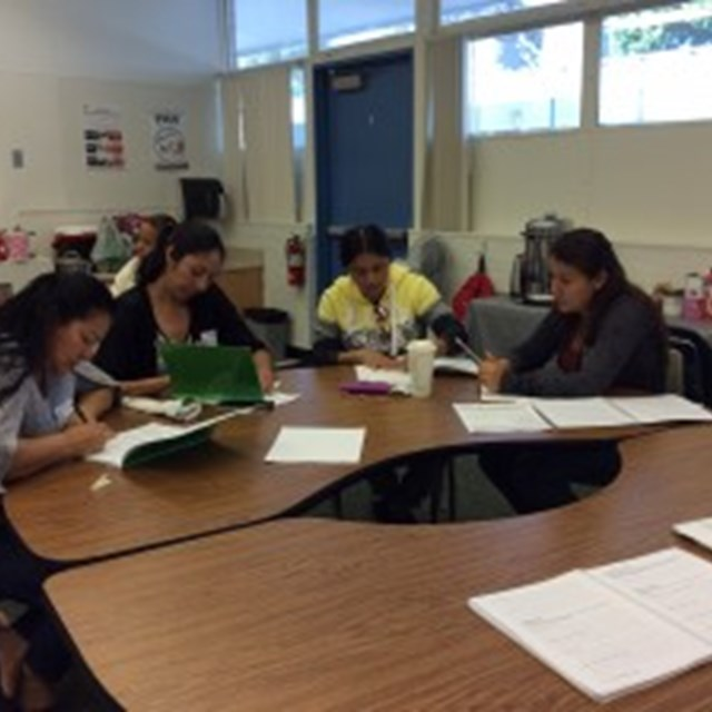 Parents learn and discuss important strategies for the success of their hard working scholars.