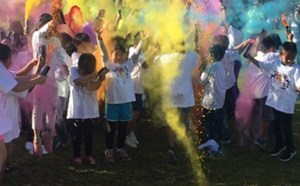 Peters Elementary Annual Color Run - article thumnail image